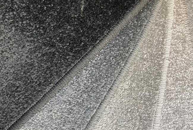 Many carpet shades