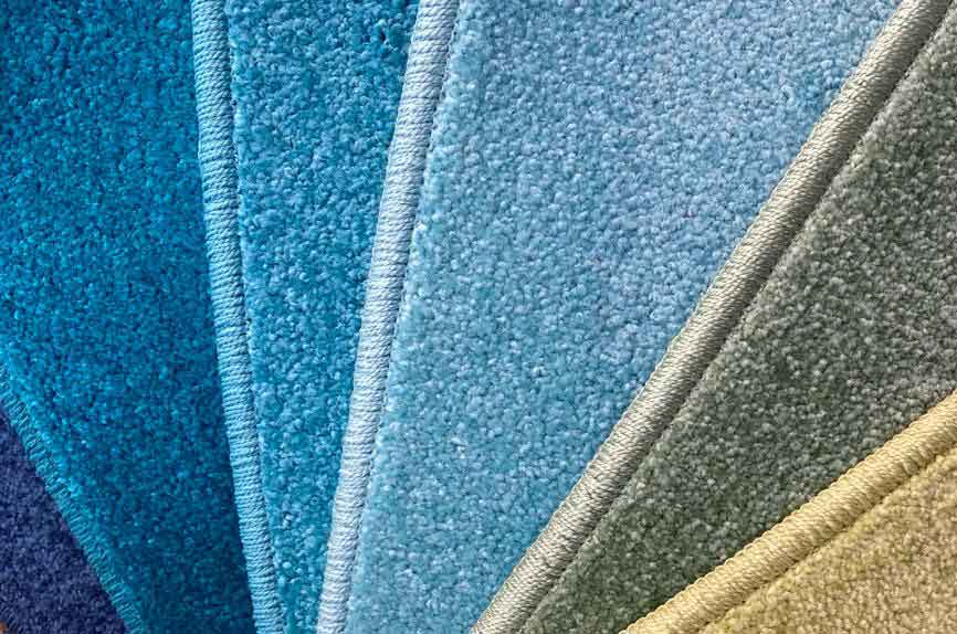 A wide selection of carpets